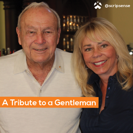 A Tribute to Arnold Palmer, Golf Legend, Philantropic Advocate and Friend of Melinda Masson
