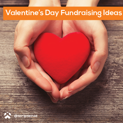 valentines day fundraising ideas hands giving heart