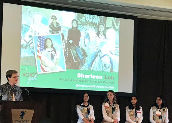 4 Girl Scouts Are Recognized for Their Leadership